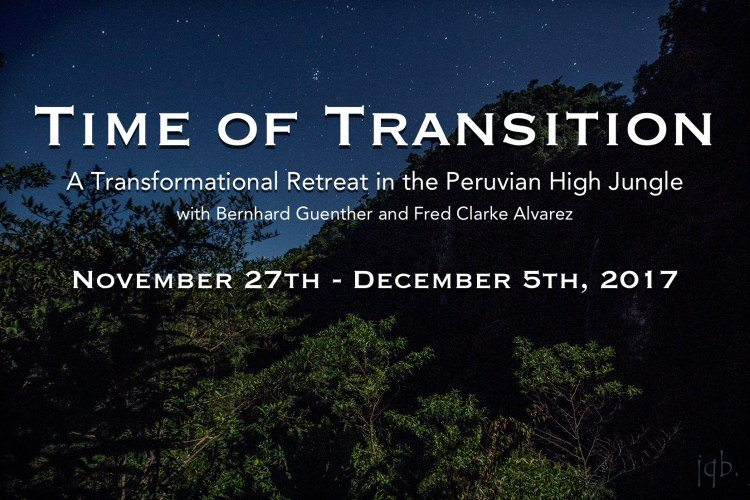 Time of Transition - Peru Retreat: November 27th - December 5th, 2017